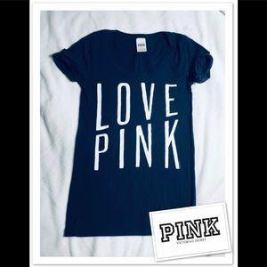 PINK Victoria Secret Short Sleeve Top sz S
